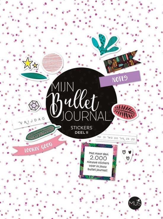 Mijn Bullet Journal Stickers Deel II