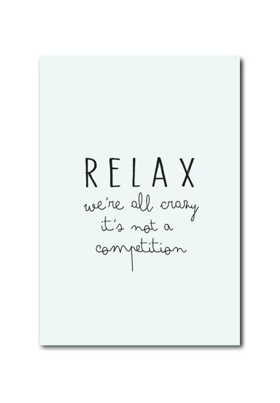 Kaart | Relax! we're all crazy