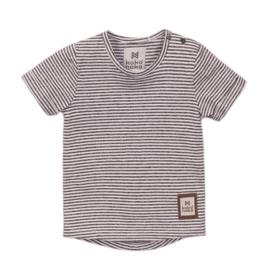 T-shirt grijs streep - Koko Noko