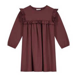 Olivia dress carbenred - Daily Brat