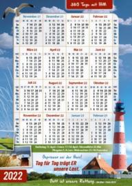 Postkarte G29 - Kalender 2022