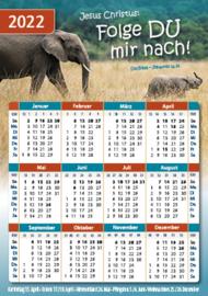 Pocket-Kalender 2022
