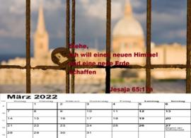 Fotokalender Komme zu mir  2022 Tischkalender