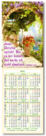 Buchzeichen-Kalenderkärtchen 2022