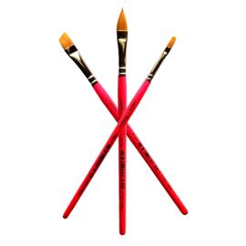 Leanne's Rainbow - 3pc Brush Set