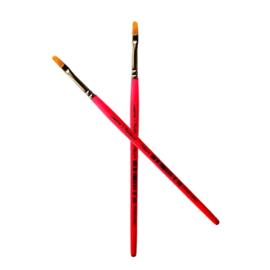 Leanne's Rainbow - 1/4 Filbert Brush