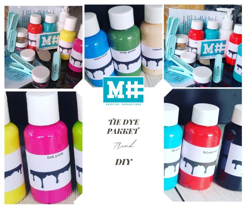 M# tie dye pakket