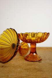 Glazen serveerschaal