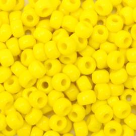 Miyuki rocailles 6/0 Opaque yellow