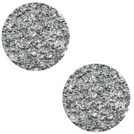 12 mm platte cabochon Polaris Elements Goldstein Gallant grey