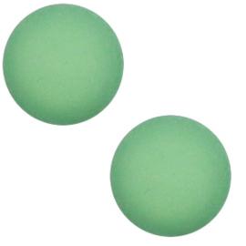 12 mm Classic cabochon Super Polaris matt Meadow green