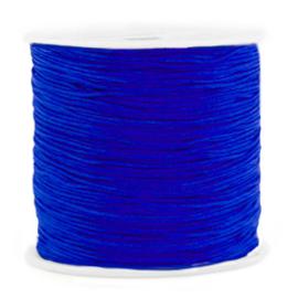Macramé draad 0.8mm Cobalt blue (10 meter)