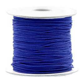 Gekleurd elastisch draad 0,8mm Cobalt blue, 5 meter
