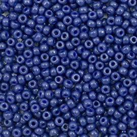Miyuki rocailles 11/0 opaque dyed navy blue, 5 gram