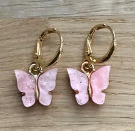 Creooltje Vlinder - Pink