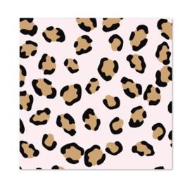1 vel Inpakpapier | Pink Leopard