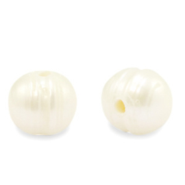 Zoetwaterparels rond Natural White 10 mm