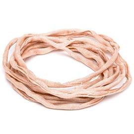Griffin habotai foulard cord Light pink, per 50cm