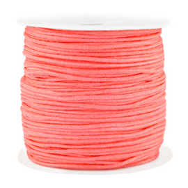 Macramé draad 0.8mm Coral pink (10 meter)