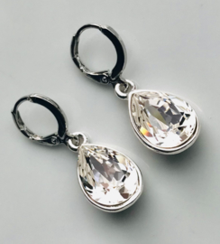 Oorbellen Swarovski Elements Crystal Clear