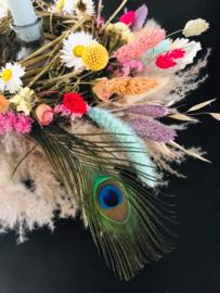 Inspiratie Lente bloemenkrans