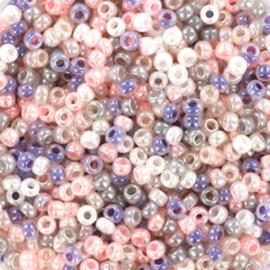 Miyuki rocailles 11/0 Moonwalk rose, 5 gram