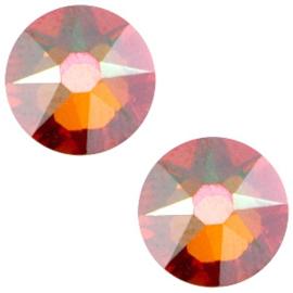 Swarovski Elements 2088-SS 34 flatback (7mm) Xirius Crystal copper brown