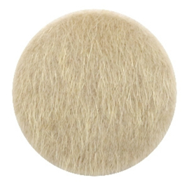 Faux fur cabochons Light brown 35mm