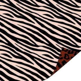 Coated Cadeaupapier 2m - Cheetah Terra -  30x200 cm