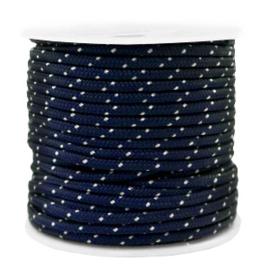 Maritiem koord 2mm Dark blue, 2 meter