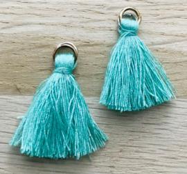 Kwastje 2,5mm Turquoise green
