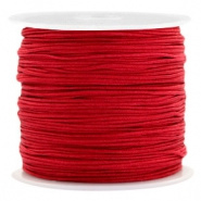 Macramé draad 0.8mm Port red (10 meter)
