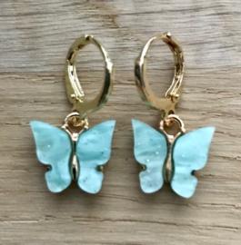 Creooltje Vlinder - Turquoise