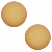 12 mm Classic cabochon Super Polaris matt Cedar brown