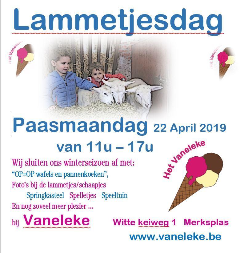 lammetjesdag 22 april 2019