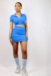 Tennis 2 piece | Blue