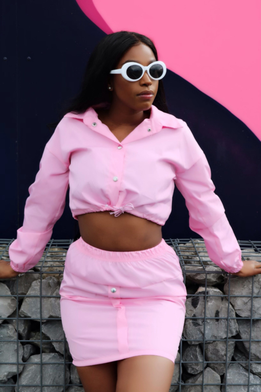 Winning In Pink