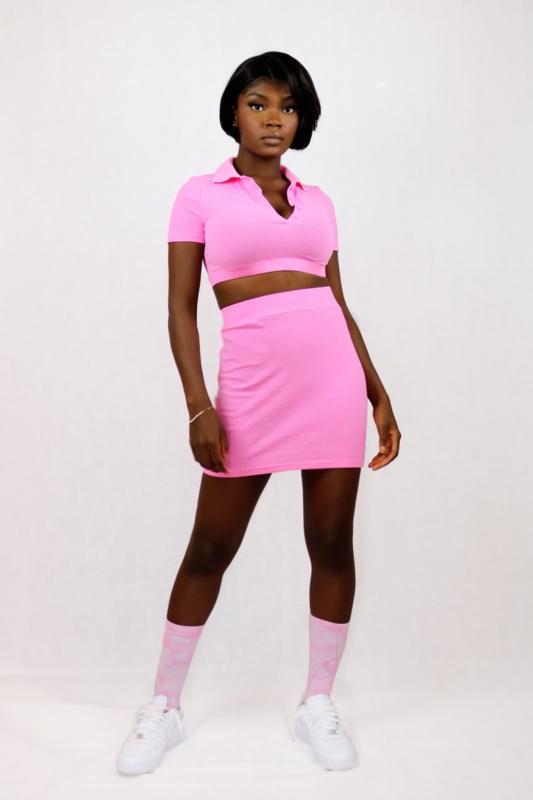 Tennis 2 piece | Pink