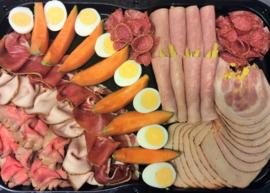 Buffet (koud) vleesbuffet  (pp)