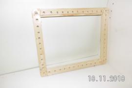 Kanitzkorf,  het begin, een houten frame