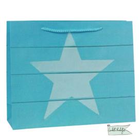 Tasje papier ster