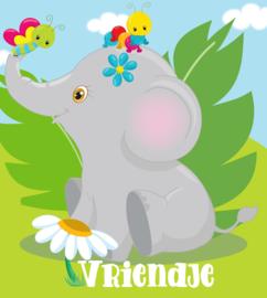 Jungle Baby Olifantje met naam