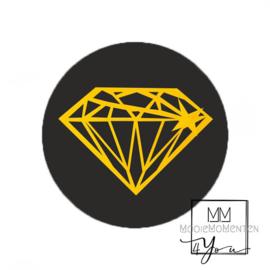 Rond Diamant Goud