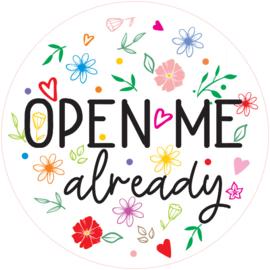 Open Me Already