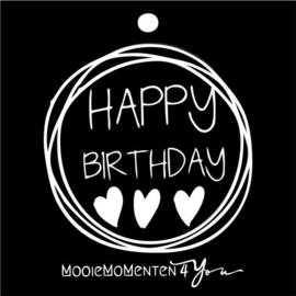 MM4Y Wenskaartje ''Happy Birthday''