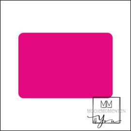 Blanco Stickers Rechtkant  Fluor Pink