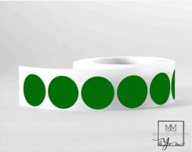 35mm Rond groen