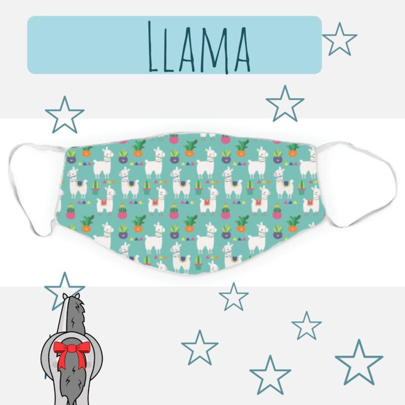Mondkapje Llama