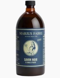 Zwarte schoonmaakzeep 1 liter - Marius Fabre