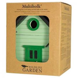 Vogelhuis Multiholk Licht Groen